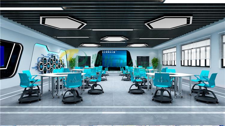 未来教室多功能课桌椅