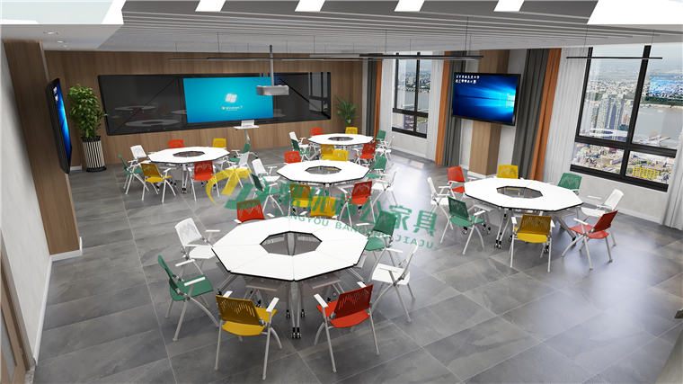 智慧教室多功能桌椅