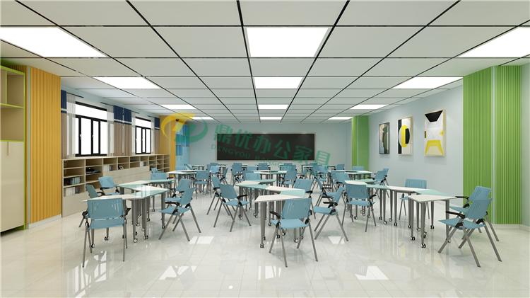 学校录播教室桌椅