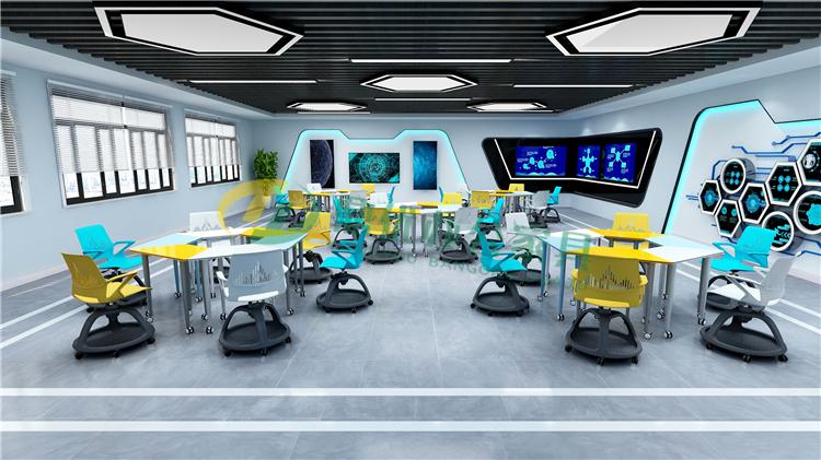 研讨教室桌椅