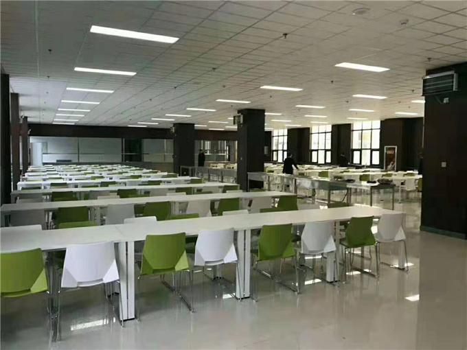 学校饭堂餐桌椅