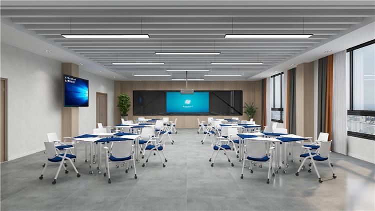 精品互动录播教室桌椅