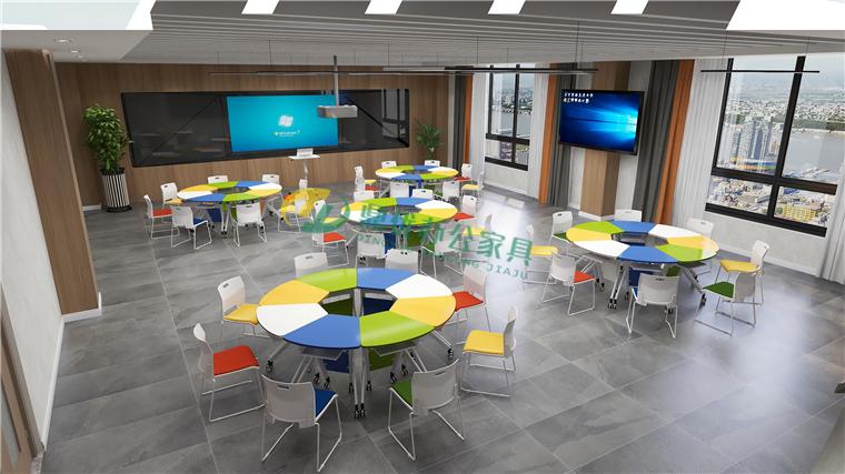 智慧教室桌椅定制厂家